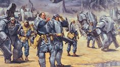 What's Your Pick for the Most Iconic Power Armor in All Ass Kicking SF Fiction? Mutant Chronicles, Character Art, Character Design, Pokemon, Steampunk, Starship Troopers, Sci Fi Armor, Science Fiction Art, Dieselpunk