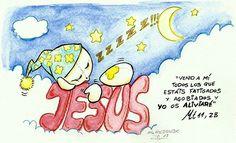 Misi - Evangelio Mt 11, 28 por Miguel Redondo.