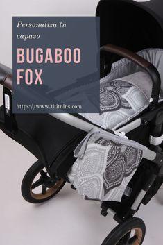 Personaliza con nuestra marca el capazo de tu Bugaboo Fox con el estilo que tu quieras. Podemos crearte cualquier combinación. #bugaboofox #bugaboo #capazo #sacocapazo #bebes #tititnins #pasiontextil Baby Tips, Baby Hacks, Bugaboo, Baby Strollers, Children, Cases, Sacks, Style, Baby Prams