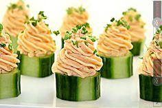 Reteta mousse de somon - Adygio Kitchen #adygio #adygio kitchen #somon #salmon #mousse de somon Mousse, Canapes, Starters, Zucchini, Vegetables, Seafood Recipes, Fish, Fine Dining, Pisces