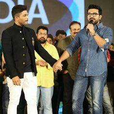 Allu Arjun and Ram Charan 👌👍 Telugu Hero, Allu Arjun Wallpapers, Allu Arjun Images, Ram Photos, Download Free Movies Online, Background Images For Editing, Indian Star, Cute Baby Videos, Actor Photo