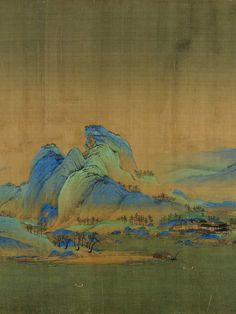 Asian Landscape, Chinese Landscape Painting, Japanese Landscape, Chinese Painting, Landscape Paintings, Chinese Artwork, Japanese Artwork, Art Chinois, Art Asiatique