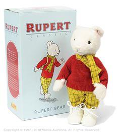 Steiff Rupert The Bear Classic Teddy Bear | Vectis Toy Auctions