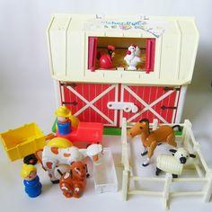 Little People: Play Family Barn (http://en.wikipedia.org/wiki/Little_People)