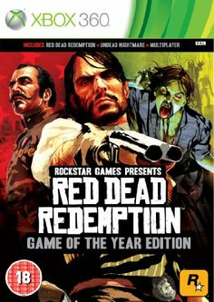 Red Dead Redemption - Game of The Year Edition (Xbox 360): Amazon.co.uk: PC & Video Games