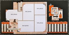 Halloween Kit - October 2011- would be a cute Disney LO w/ the right embellishments