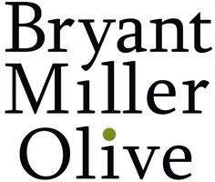 """Rebranding the firm using an """"Olive"""" theme helps build inexpensive awareness for this firm in a new market. A green olive dots the i in Olive."""
