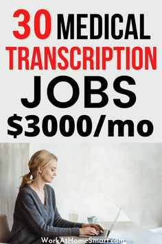 Looking for the best medical transcriptionist jobs from home? If so, check out this collection of companies with remote transcription jobs. Medical Transcription Jobs, Transcription Jobs For Beginners, Medical Transcriptionist, Typing Jobs From Home, Online Typing Jobs, Companies Hiring, Home Jobs, Remote, Check