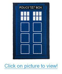 Doctor Who TARDIS Bath Mat Home #Office #Bath