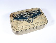 French Medicine Pill Tin by LaBelleEpoqueDeco on Etsy