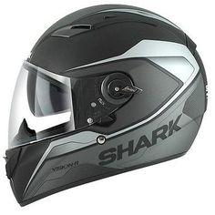 Shark Motorrad Helm Vision-R SYNTIC MAT ST Gr.M mit Sonnenblende UVP:339,95 €