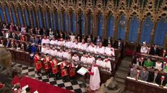 I would love a choir like that at the Kate and William#s royal wedding - even on a smaller scale