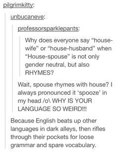 Evil English
