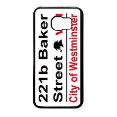 Sherlock Street 221b Sign Samsung Galaxy S6 Case