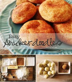 easy homemade snickerdoodles recipe - cinnamon & sugar cookies...delicious! + they're awesome for kids who like to help in the kitchen - they can roll the balls and then roll them in the cinnamon sugar all by themselves. easy recipe & a great family activity! | www.livecrafteat.com