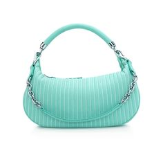 Tiffany & Co. | Item | Marlow hobo in Tiffany Blue® smooth leather, small. More colours available. | United States