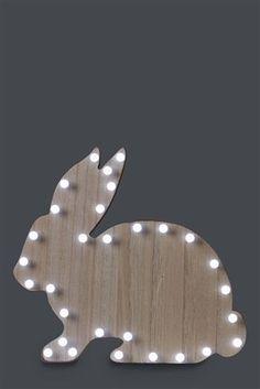 Buy Wood Rabbit Light from the Next UK online shop