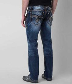 7bab9ec96e Rock Revival Foxe Relaxed Straight Jean - Men's Jeans in Foxe EQ2 | Buckle
