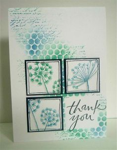 Beautiful background for these squares by Swanlady Impressions. I know i've already pinned this, but i just love it so much!