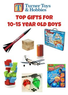 What are the best toys for 10 year old boys? | Old boys, Christmas ...