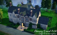 Sims Challenge, The Sims 4 Lots, Wooden Wardrobe, Sims 4 Houses, Paradise On Earth, Entrance, Medieval, Backdrops, Solar