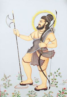 If there ever was any an aggressive incarnation of Lord Vishnu then it has to be that of Parashurama. He is considered as the 6th of the dasavatara or incarnations of Vishnu to have come on earth. Normally according to the Vedas the class of Brahmanas (priests) and Kshatriyas (warriors) are distinct. But Parashuramatook upfighting