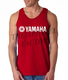 66114d006d58ad Men s YAMAHA Racing Tank Top 3 Colors All size S-3XL on Etsy
