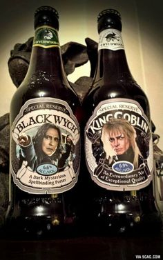 This brewery created two great British ales in honor of two great British legends.