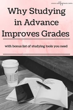 Do you want to improve your grades? Click here to learn how studying in advance can help you do just that! Tips for being a better college student