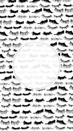 Makeup Wallpapers, Cute Wallpapers, Eyelash Studio, Eyelash Extensions Styles, Pop Art Images, Lash Quotes, Eyelash Logo, Makeup Illustration, Lashes Logo