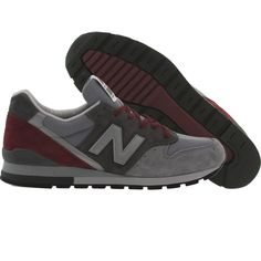 new product 3690f 2f614 New Balance Men M996GK - Made in USA (gray   burgundy)