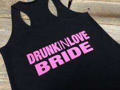 5f9362f7975d1 Drunk In Love Tank Top Terry Tank Racerback by InInkBranding