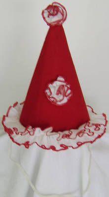 sew a clown hat