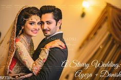 I have two words for this stunning celebrity wedding: eye candy! Ayeza Khan, famed Pakistani model and actress, married dreamy Pakistani model and actor Danish Taimoor back in August of 2014. The two dreamboats starred in Pakistani dramas together before taking their 7 year romance into committal mode. And from these pictures, their on-screen  [...?
