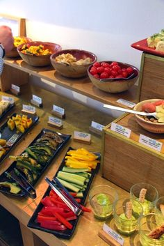 Veganes Buffet Emiko