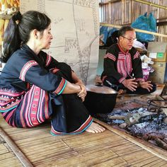 Monday our classroom was made of bamboo and our teachers were Lahu community leaders sharing about their sustainable farm in the jungle. #studyabroad #gostudyabroad #educationabroad #generationstudyabroad #Lahu