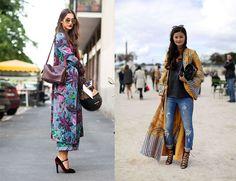 Prendas de la temporada: kimono largo