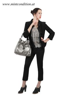 #Burberry jacket, #StellaMcCartney top, #JilSander pants, #MichaelKors bag