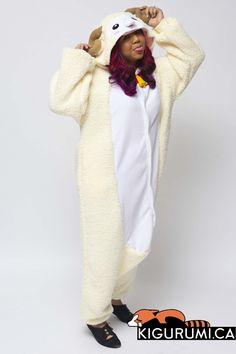 Sheep Onesie Kigurumi Animal Costume Pajama