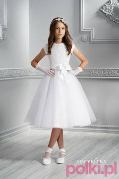krótkie sukienki komunijne, komunia, moda