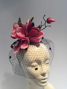 Fascinator NYC Magnolia Headband-Handmade-Magnolia by doramarra