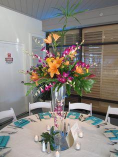 Tropical theme reception