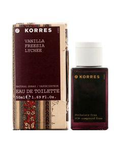 Vanilla Freesia Lychee Korres perfume - a fragrance for women 2011