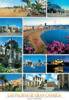 Postcard from Spain ~ Las Palmas de Gran Canaria ~ Islas Canarias www.postcrossing.com