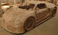 Replica Car Bugatti Veyron with the size as original car, length 4.46m, width 2.00m, height 1.20m