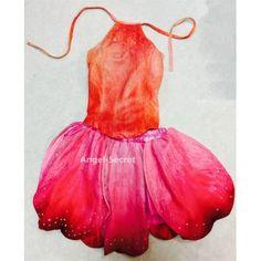 rosetta fairy velvet and chiffon skirt: skirt petals