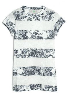 Floral stripes from Stella McCartney