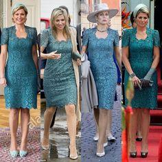Same dress of Queen Maxima