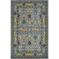 Roshan Gray Area Rug