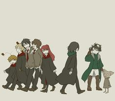 HP Story - The Marauders (Peter Pettigrew, Remus John Lupin, Sirius Black & James Potter), Lily Evans, Severus Snape, Regulus Arcturus Black & Kreacher the House Elf